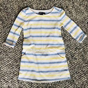GapKids Girls Striped Knit Dress Tunic